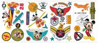 New MICKEY MOUSE CLUB HOUSE PILOT WALL STICKERS Decals 034878128689
