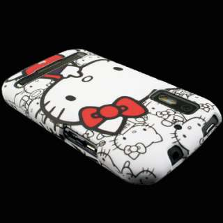 Case+Screen Protector for Motorola Photon 4G B Hello Kitty Cover Skin