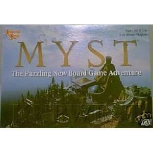 MYST   The Puzzling New Board Game Adventure Toys & Games