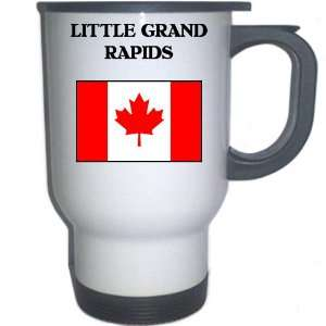 Canada   LITTLE GRAND RAPIDS White Stainless Steel Mug