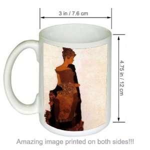 Gerti Schiele Portrait Artist Egon Schiele Art COFFEE MUG