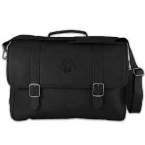 NCAA Tide Black Leather Porthole Laptop Briefcase Sports