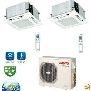 CMH3172+XMHS1272+XMHS0972 Ceiling Recessed Dual Zone Heat