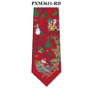 Noel Christmas Ties / Red