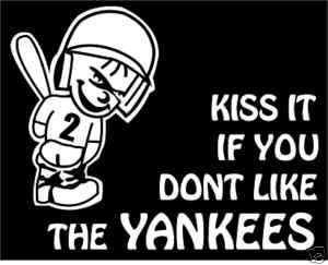 Car Auto Sticker Decal Gr8 4 Derek Jeter yankees fans