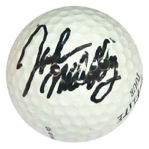 John Nahattey Autographed / Signed Golf Ball Sports