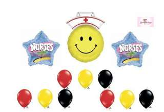 Graduation Nurses are the Best Thank You Mylar Latex Balloon Set Party