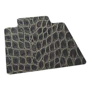 ES Robbins Snake Skin Design Series Chair Mat w/ Lip for