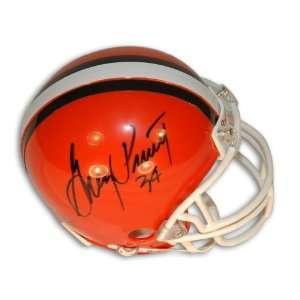 Greg Pruitt Autographed Cleveland Browns Mini Helmet