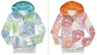 NWT Jrs AEROPOSTALE Print Full Zip Front Hoodie Jacket