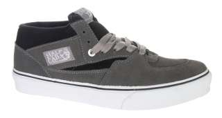 Vans Half Cab Suede Black Grey Gray Skateboarding Skate Shoes New NIB