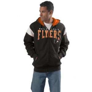 Philadelphia Flyers Color Block Full Zip Fleece Hooded