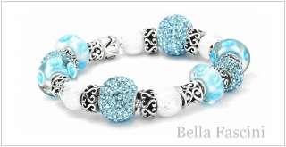 Bella Fascini SWIRL BAND Sterling Silver European Charm Bead Spacer