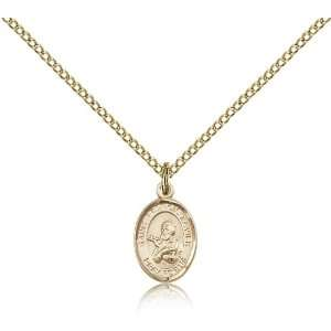 Genuine IceCarats Designer Jewelry Gift Gold Filled St. Francis Xavier