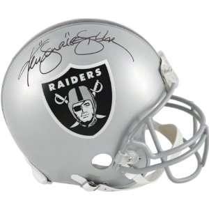 Ken Stabler Autographed Pro Line Helmet  Details Oakland