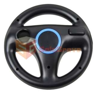 WHEEL FOR Nintendo Wii MARIO KART RACING GAME Wiimote BLACK