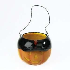 San Francisco Giants MLB Halloween Pumpkin Candy Bucket (5