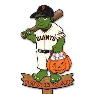 San Francisco Giants 30 Halloween Yard Stake Sports