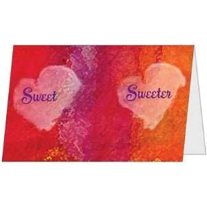 Sweetest Day Love Heart Husband Wife Sweetie Greeting Card
