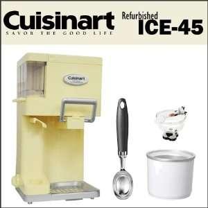 Refurbished ICE 45 Mix it in Soft Serve 1 1/2 Quart Ice Cream Maker