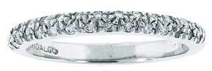 NEW HIDALGO Diamond & White Gold Ring Size 6.5
