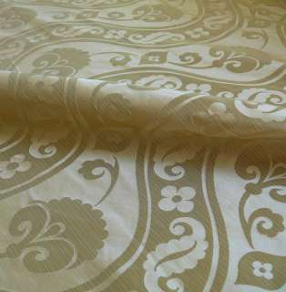 HiEND 100%SILK DAMASK SATIN RIVER MIST SILVER GREEN BTY