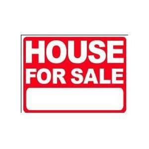 HOUSE FOR SALE 18x24 Heavy Duty Plastic Sign Everything