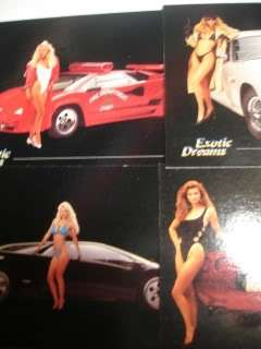 Exotic Dreams 1992 NEAR COMPLETE SET MISSING only 1 CARDS