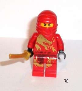 Lego Ninjago Minifigure KAI DX with Dragon Suit, New