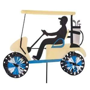 Custom Decor Golf Cart Staked Motion Art