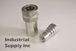 ISO B Hydraulic Hose Quick Disconnect Couplers