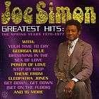 Joe Simon , Audio CD, Greatest Hits The Spring Years, 1970 1977