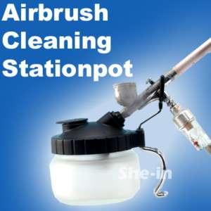 AIRBRUSH AIR BRUSH CLEAN Jar SAION PO Cleaner WD 61 |