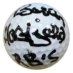 Bobby Hattfield Autographed / Signed Golf Ball Sports
