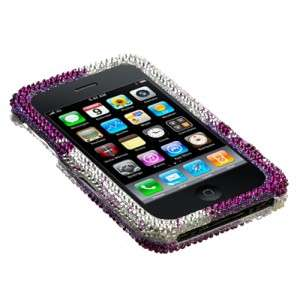 Heart Galaxy Crystal Diamond BLING Hard Case Phone Cover for Apple