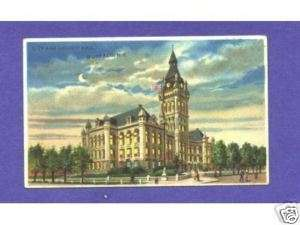 HTL 146 Koehler Hold to Light postcard, Buffalo NY |