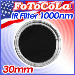 30mm 30 Infrared Infra Red X ray IR Filter 1000nm 1000