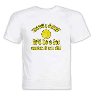 Dazed and Confused Weed Quote T Shirt White
