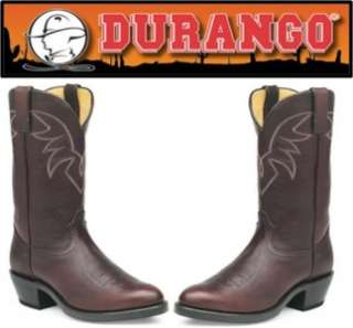 Durango Mens 11 Leather Western Boots Black or Brown