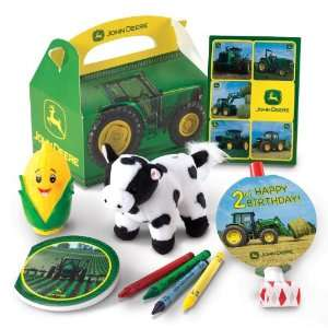 John Deere 2nd Birthday Party Favor Box Party Supplies