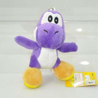 Mario Bros 4 Yoshi Soft Plush Toy Purple