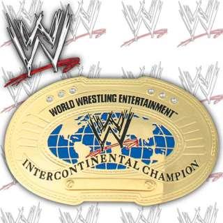 WWE INTERCONTINENTAL CHAMPIONSHIP MINI REPLICA WRESTLING BELT