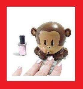 Cutie Monkey Manicure Pedicure Nail Polish Blower Dryer