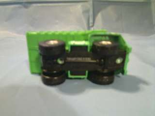 This MAISTO 2003 MARVEL THE INCREDIBLE HULK DUMP TRUCK TOY is in VERY
