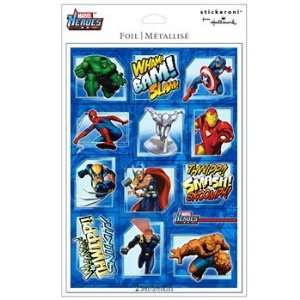Marvel Super Hero Squad Foil Sticker Sheets Everything