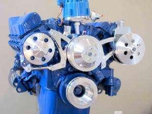Ford 351C Alternator & Power Steering Bracket Cleveland