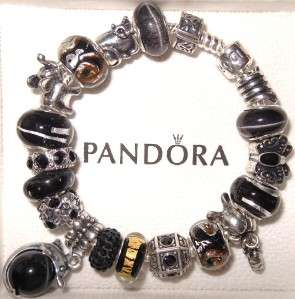AUTHENTIC PANDORA SILVER 925 BRACELET SET W/ BOX & BAGWILD BLACKPICK