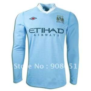11 12 manchester city home long sleeve high quality