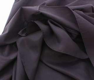 1290 JIL SANDER BLACK WAIST DECO DRESS F36 NWT