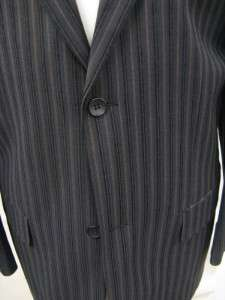 New Mens Dark Navy PinStripe Blazer Sportscoat $399